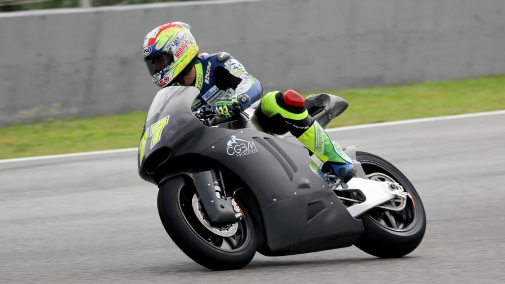 Dominique Aegerter, Technomag Racing Interwetten, Jerez Test