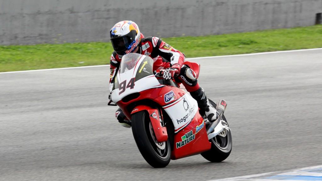 Jonas Folger, AGR Team, Jerez Test