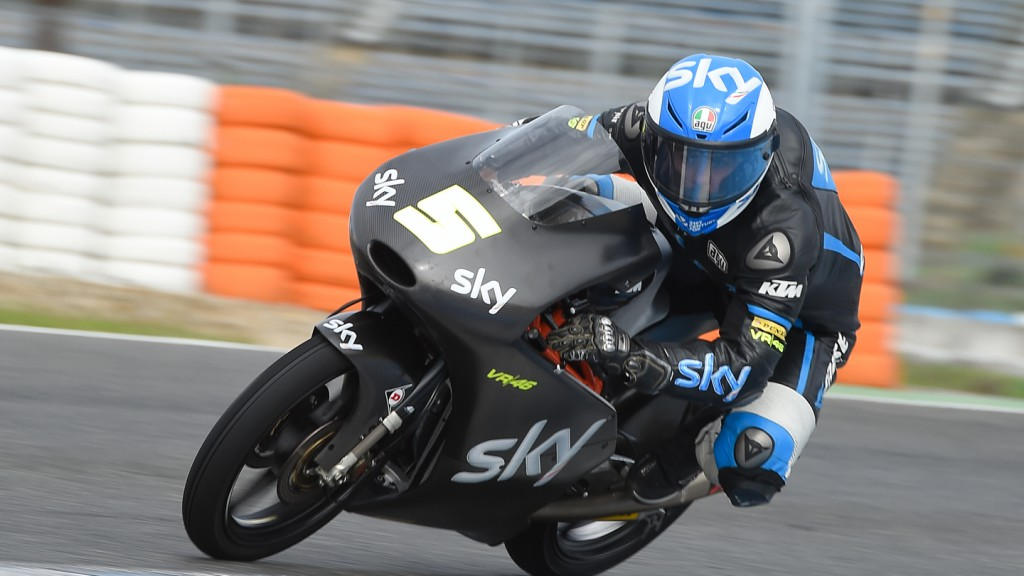 Romano Fenati, SKY Racing Team  VR46, Jerez Test