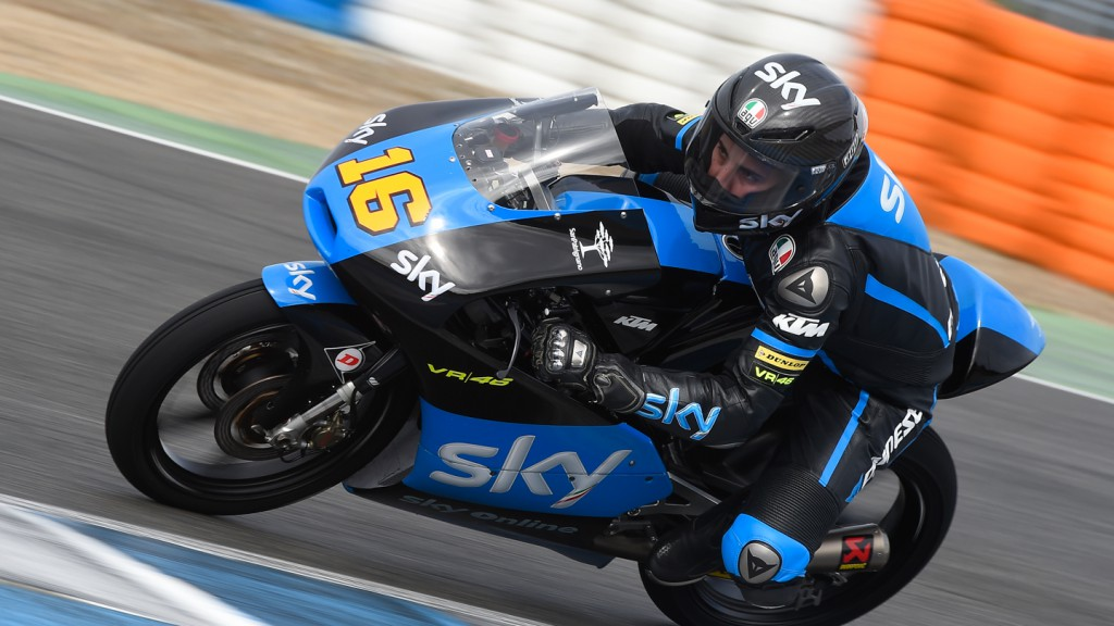 Andrea Migno, Sky Racing Team VR46, Jerez Test