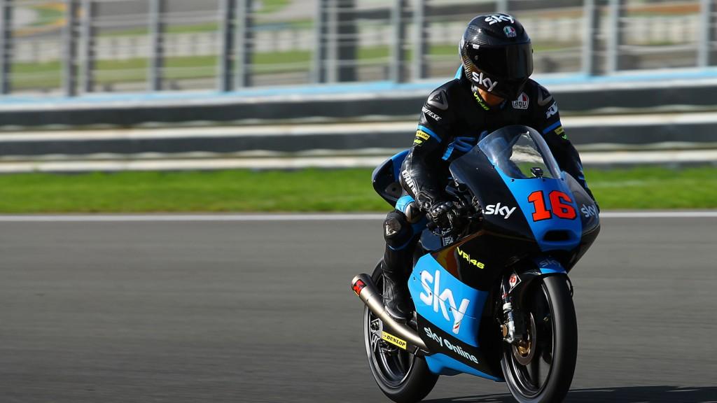 Andrea Migno, Sky Italia, Valencia Test