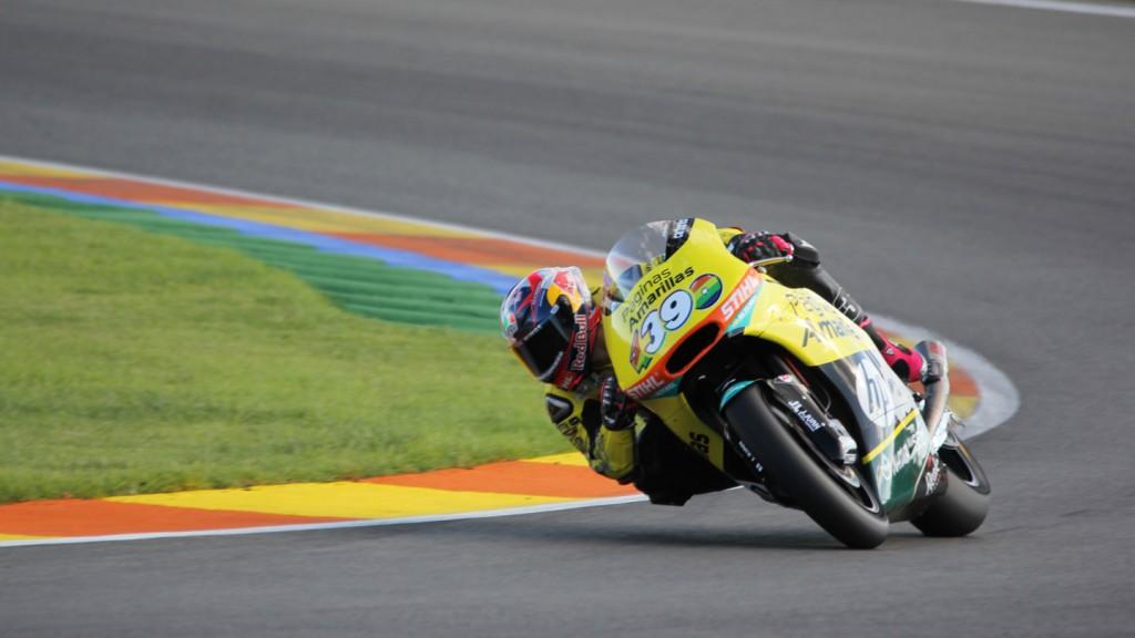 Luis Salom, Páginas Amarillas HP 40, Valencia Test