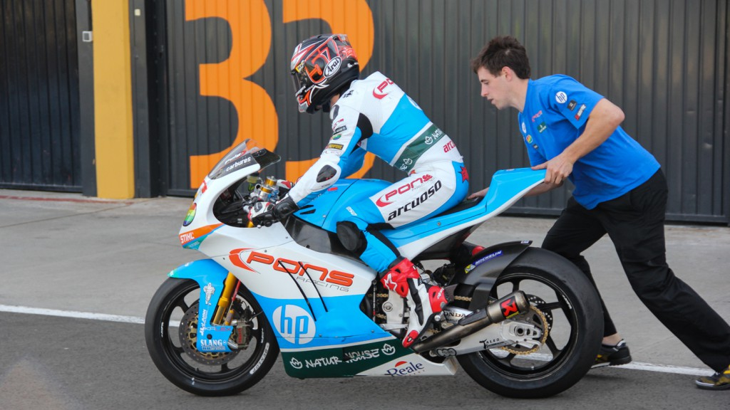 Edgar Pons, Pons Racing, Valencia Test