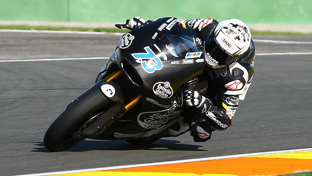 Alex Marquez, Marc VDS Racing Team, Valencia Test