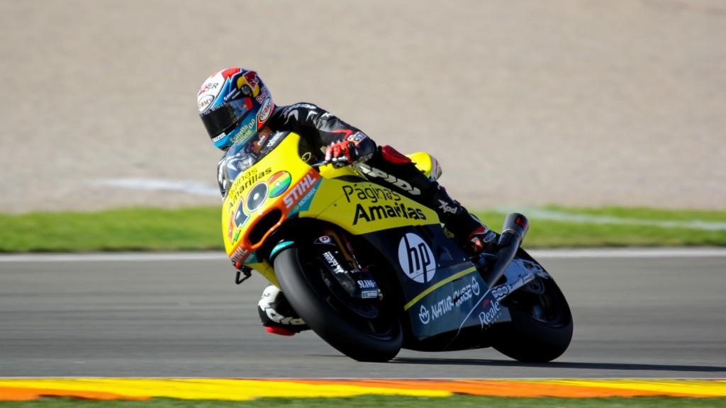 Alex Rins, Paginas Amarillas HP40, Valencia Test