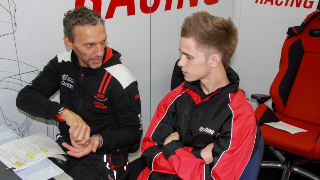 Danny Kent, Kiefer Racing, Valencia Test