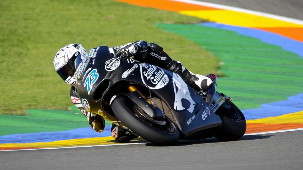 Alex Marquez, Marc VDS Racing Team, Valencia Test