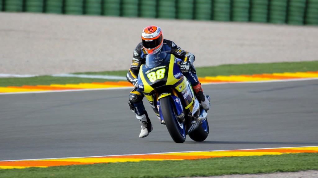 Ricard Cardus, Tech 3, Valencia Test