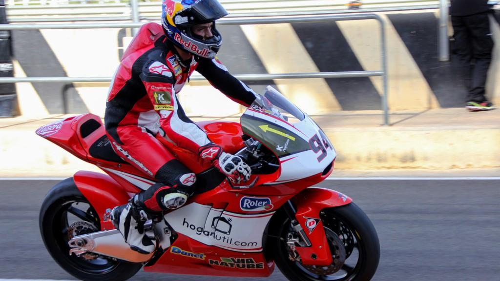 Jonas Folger, AGR Team, Valencia Test