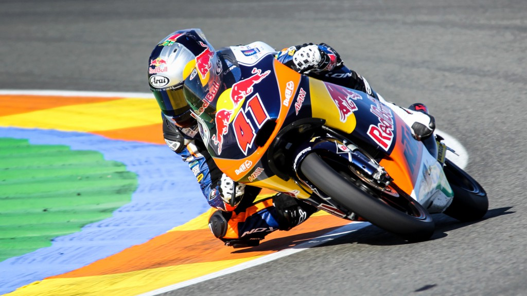 Brad Binder, Red Bull KTM Ajo, Valencia Test