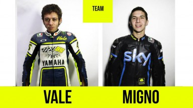 Rossi, Migno, Vale46 ranch competition