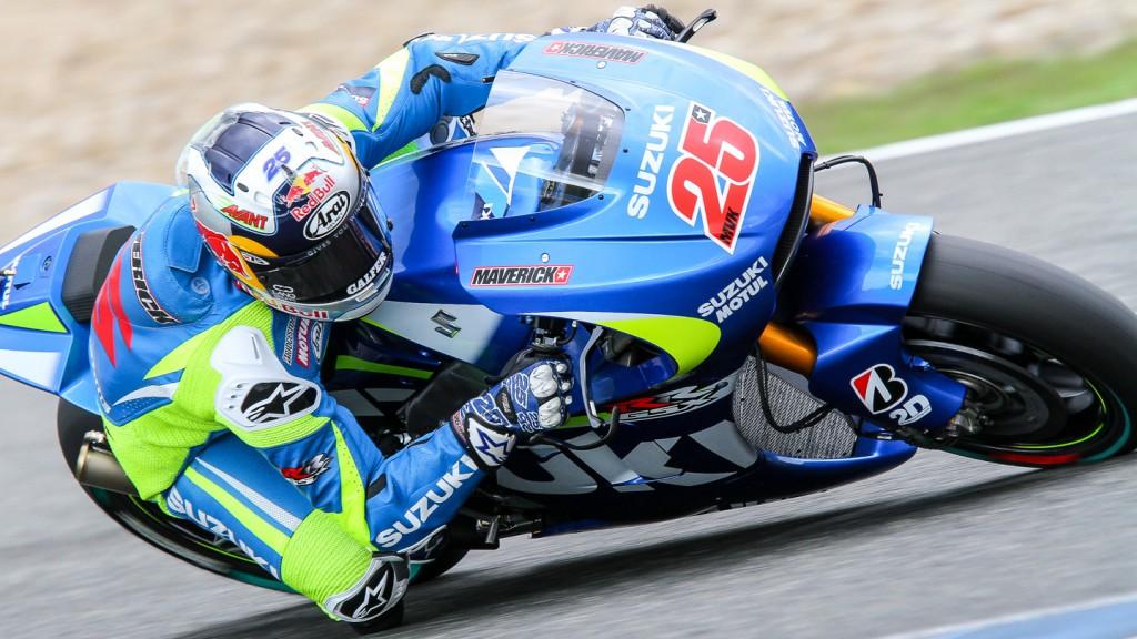 Maverick Viñales, Team Suzuki MotoGP, Jerez Test