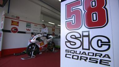 Paolo Simoncelli on SIC58 Squadra Corse