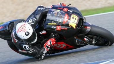 Alvaro Bautista, Factory Aprilia Gresini,  Jerez Test