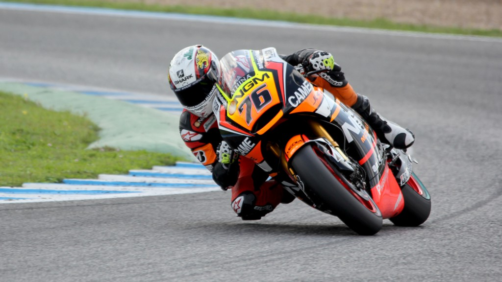 Loris Baz, NGM Forward Racing, Jerez Test