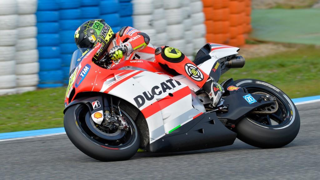 Andrea Iannone, Ducati Team, Jerez Test