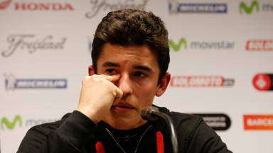 Marc Marquez, Superprestigio DTX Barcelona Press Conference