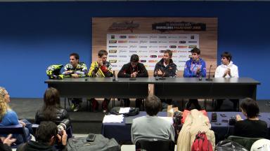 Marc Marquez explains Andorra move (Spanish)
