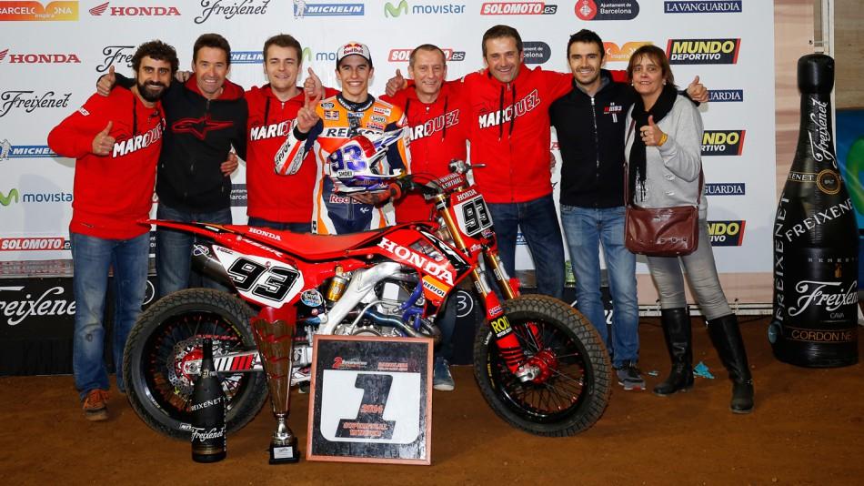 Márquez remporte le Superprestigio DTX