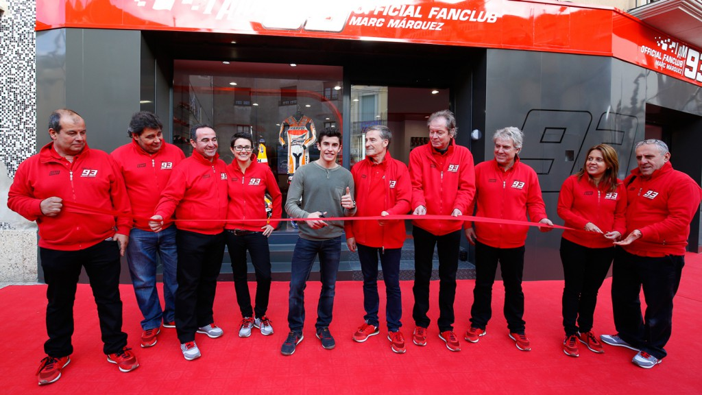 Marc Marquez Fan Club Store Opening