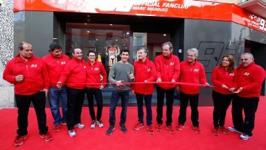 Marc Marquez Fan Club Store Opening