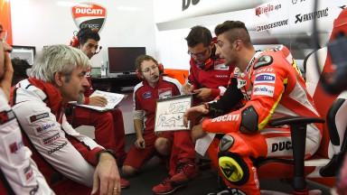 Gigi Dall'Igna, Andrea Iannone, Ducati Team