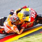 Marquez fastest as Pedrosa misses Warm-Up