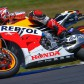 Marquez davanti nel warm up