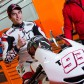 Repsol Honda: Rain stops play on Day 1 in Valencia