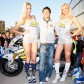 Aoyama presentó su moto en el estadio del RCD Espanyol
