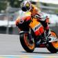 Dovizioso fastest in rain affected MotoGP session