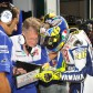 Burgess gives insight into Rossi relationship