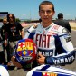 Lorenzo shows off Barcelona livery