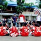 Dani Pedrosa rend visite à la Honda Racing School en Indonésie