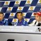 Los directivos de Yamaha felicitan a Rossi