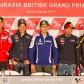 La rueda de prensa del GP AirAsia de Gran Bretaña