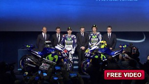 Movistar Yamaha MotoGP host 2015 team launch in Madrid
