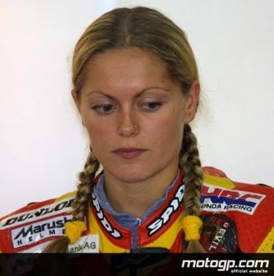 Katja Poensgen à la recherche d`un team pour la 4ème fois  en 13 mois