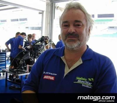 Le team manager  Suzuki, Garry Taylor retrouve le sourire