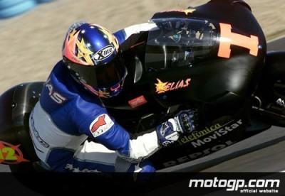 Liste des pilotes pour les essais IRTA 250cc de Valence