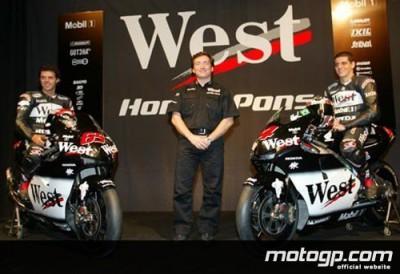 West Honda Pons dévoile son équipe 2002 à Valence