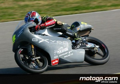 Cecchinello sets the pace at 125cc IRTA test