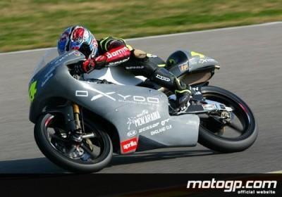 Cecchinello mène les premiers essais IRTA 125