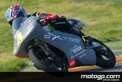 Cecchinello, de nuevo el más rápido en el último día del test IRTA  de Valencia