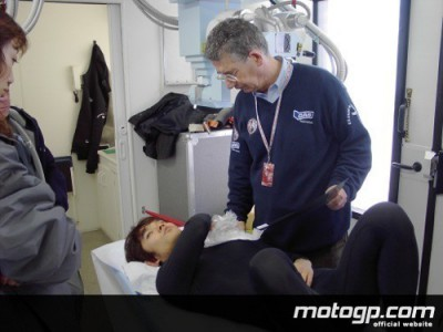 Harada breaks collarbone in Estoril