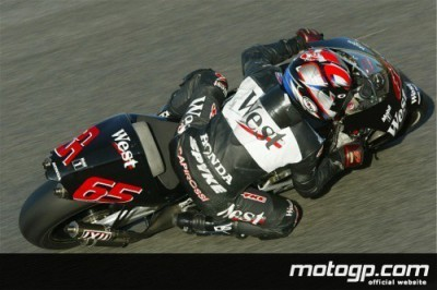 Capirossi takes over the mantle from the injured McCoy in Estoril