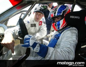Doohan drives V8 supercar for first time