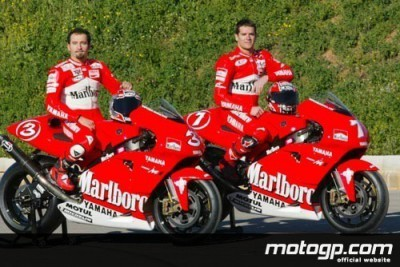 La squadra Marlboro Yamaha proverà a Mugello questa settimana