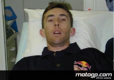 Garry McCoy se recupera de su lesión en Austria