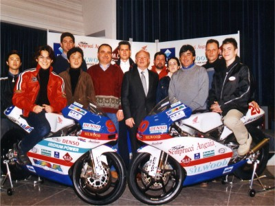 Semprucci Angaia Racing team officially present riders Noboru Ueda and Imre Toth